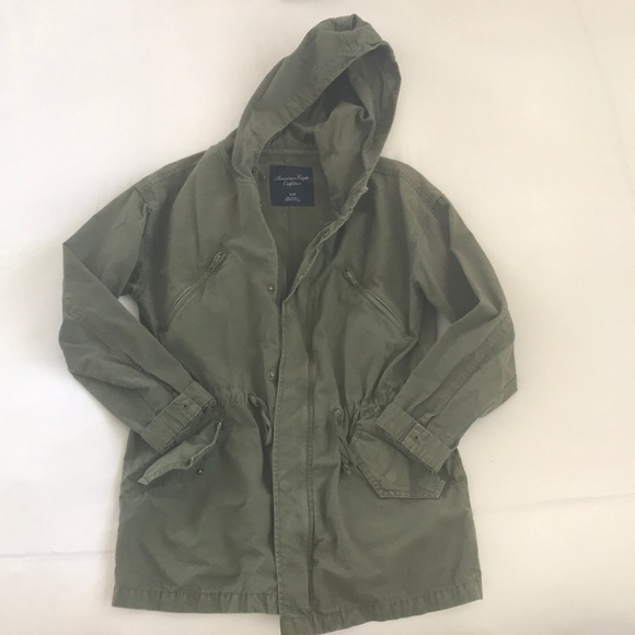 Women's American Eagle army green utility Coat